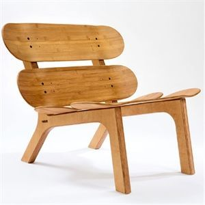 Image of   I'M Board - Chair - bambus (uden hynde)