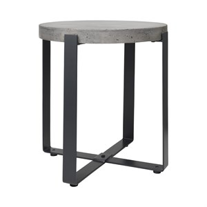 Image of   Cozy Living - Concrete Side Table - Høj