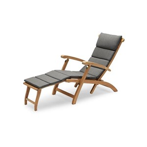 Image of   Skagerak - Hynde til Barriere Deck Chair - Charoal