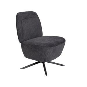 Image of   Zuiver - Lounge Chair Dusk - Mørkegrå
