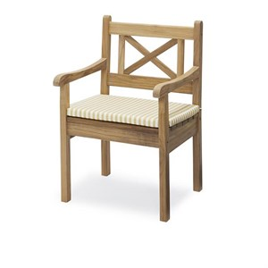 Image of   Skagerak - Hynde til Skagen Chair - Golden Yellow Stripe