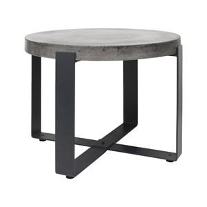 Image of   Cozy Living - Concrete Side Table - Lav