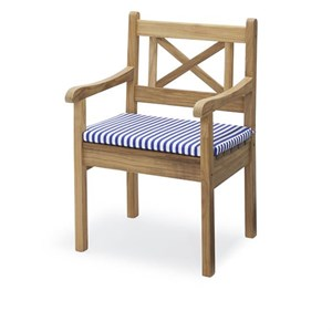Image of   Skagerak - Hynde til Skagen Chair - Sea Blue Stripe