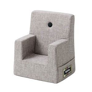 Image of   By KlipKlap børnestol - KK Kids chair - Multigrå med grå knap