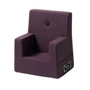 Image of   By KlipKlap børnestol - KK Kids chair XL - Plum (lilla) med plum(lilla) knap
