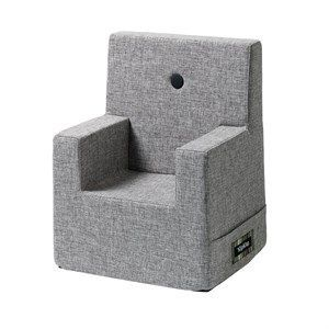 Image of   By KlipKlap børnestol - KK Kids chair XL - Multi grå med grå knap