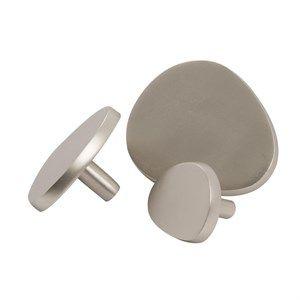 Image of   Au Maison - Ovale knager i sølv - Sæt af 3