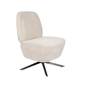 Image of   Zuiver - Lounge Chair Dusk - Sand