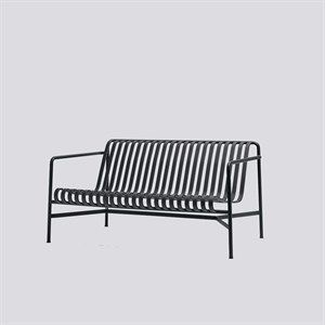 Image of   HAY havemøbel - Palissade lounge sofa i anthracite