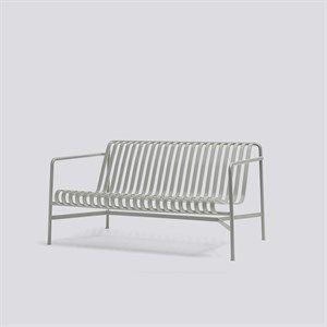 Billede af HAY havemøbel - Palissade lounge sofa i lysegrå