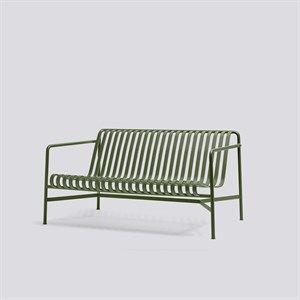 Image of   HAY havemøbel - Palissade lounge sofa i olivengrøn