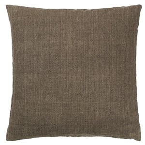 Image of   Cozy Living - Luxury Light Linen Cushion - CHESTNUT
