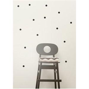 Ferm Living - wallsticker, mini dots - sort
