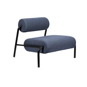 Image of   Zuiver - Lounge Chair Lekima - Mørkeblå