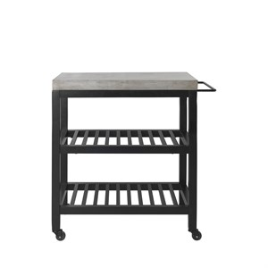 Image of   Cozy Living - Concrete Nordic Bar Cart