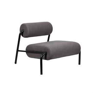 Image of   Zuiver - Lounge Chair Lekima - Mørkegrå