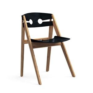 Image of   We Do Wood - Spisebordsstol - Sort