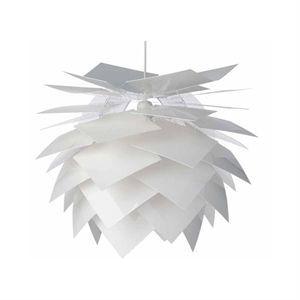 Image of   Dyberg-Larsen Pineapple pendel hvid - small Ø 35 cm