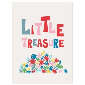 Image of   KAI Copenhagen - Plakat - Little treasuers - 50x70 cm.