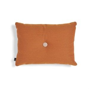 Image of   HAY pude - Dot Cushion 1 dot Steelcut Trio - orange