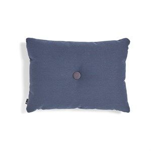 Image of   HAY pude - Dot Cushion 1 dot Steelcut Trio - dark blue