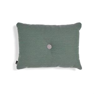 Image of   HAY pude - Dot Cushion 1 dot Steelcut Trio - green