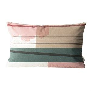 Ferm living - pude - colour block small 1