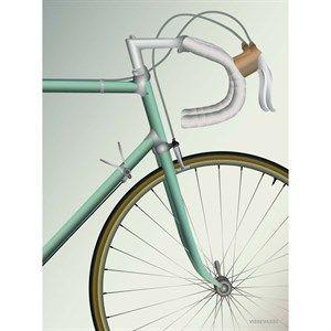 VISSEVASSE - Racing Bicycle - 70x100 cm