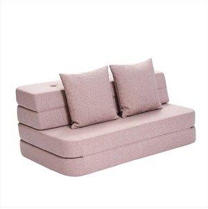 Image of   By KlipKlap - KK 3 Fold sofa 120 cm - Rosa