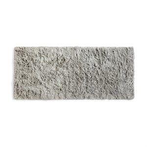 Image of   Hay - Shaggy Gulvtæppe (80 x 200 cm) - varm grå