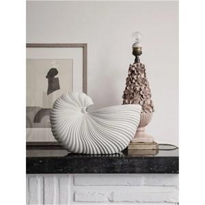 Image of   Ferm Living - Konkylie vase - Råhvid