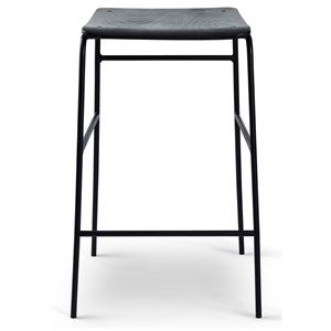 Image of   Bent Hansen - Sincera bar stool - 65 cm - sort
