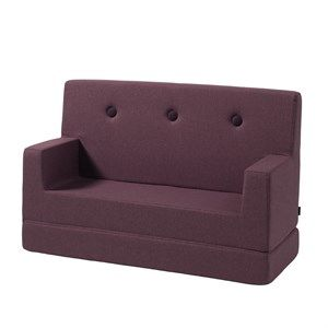 Image of   By KlipKlap børnesofa - KK Kids Sofa - Plum