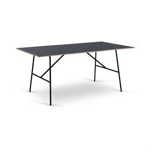 Image of   Bent Hansen - Sincera bord - sort - længde 170 cm