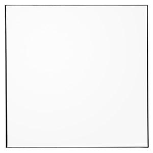 Image of   AYTM - QUADRO spejl - Sort / klar