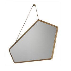 Image of   Design By Us - Ego spejl med egetræs ramme - lille