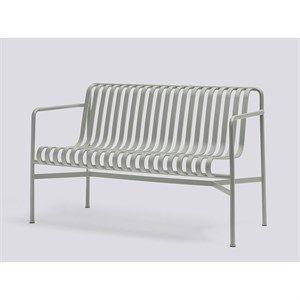 Image of   HAY havemøbel - Palissade spisebordsbænk sky grey
