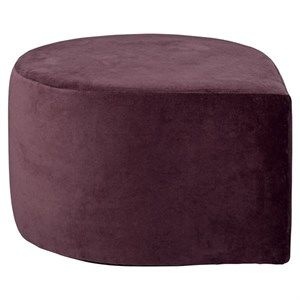 Image of   AYTM - Stilla velour puff - Bordeaux