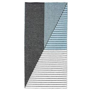 "Image of   Horredsmattan tæppe ""Stripe"" (70 x 140) (Blå)"