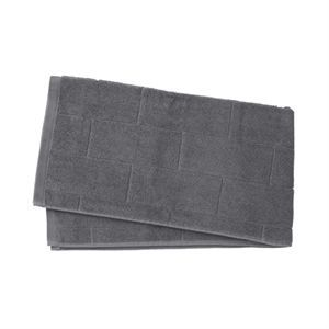 Louise Roe - badehåndklæde i charcoal (80 x 150 cm)
