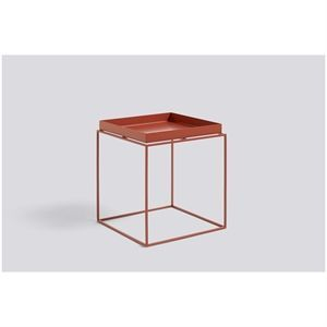 Image of   Hay bord - Tray Table Medium Square - red