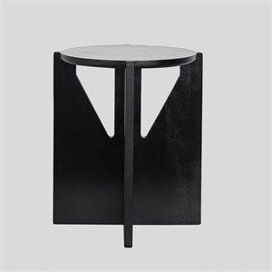 Image of   Kristina Dam stool - Skammel i sort bøg