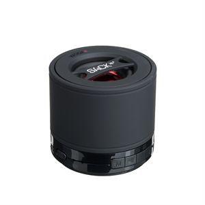 Image of   SACK it WOOFit - Mini højtaler - sort (højde 7 cm)